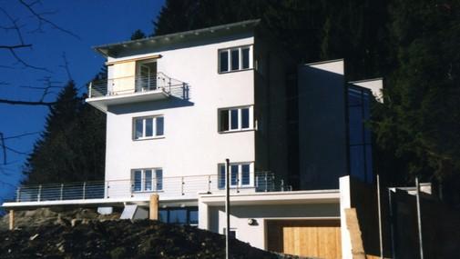Treppenhaus nach außen verlegen  Haus 3 - caspari-architekten